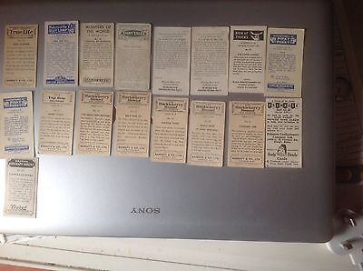 small job lot of cofectionary cards
