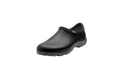 Sloggers 5301BK09 Men's Rain and Garden Shoe with Comfort Insole, Black, Size 9