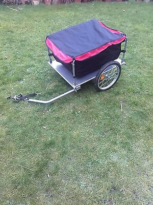 140 litres/140L handy Bike Trailer with Cover 80kg capacity U2H9