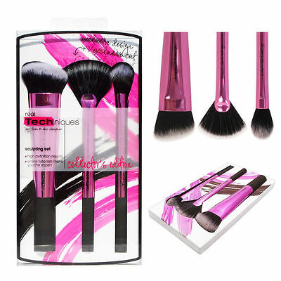 Make up Brushes Real Techniques Core Collection/Starter Kit/Travel Set
