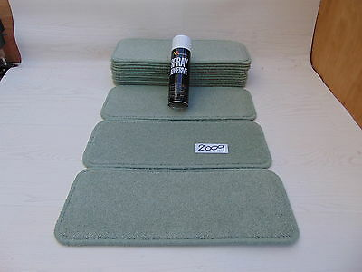 Carpet / Stair pads 50cm Wide 14 off  and  with a FREE  can of SPRAY GLUE 2009-2