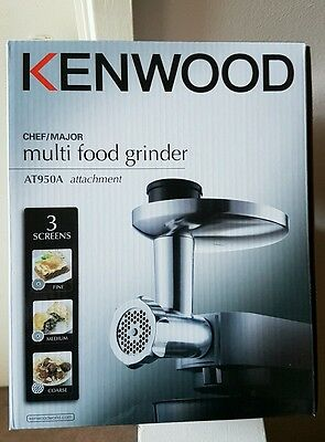 Kenwood At950A Mincer For Chef/major Genuine Kenwood Accessory