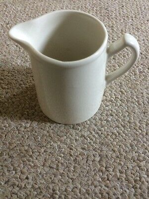 Lord Nelson Pottery - Simple White Cream Jug