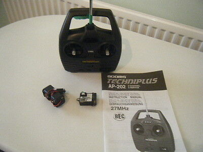 ACOMS  techniplus 27 mhz transmitter and receiver without box works vgc