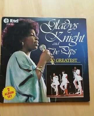 Gladys Night And The Pips Greatest Hits Vinyl Double Lp Album
