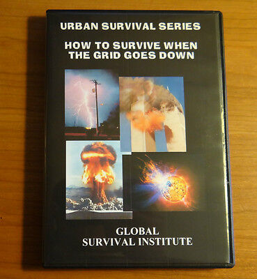 Z2  How To Survive When The Grid Goes Down - 2 Dvd Set Urban Survival Knives