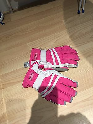 Girls Ski Gloves Age 11-13