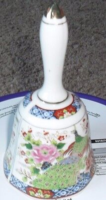 ornamental china bell chinese design ,vgc