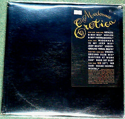 "MADONNA EROTICA 1992 PROMO MADE IN USA MAXI EP US LIMITED 2 x 12"" VINYL NO LP"