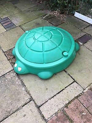 Little Tikes turtle sand pit or paddling pond