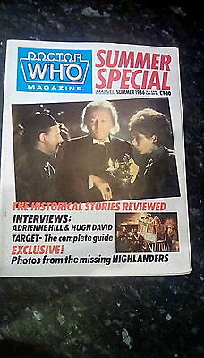 Doctor Who Magazine 1986 Winter Special