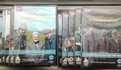 Last of the Summer Wine DVD series 1-10 + 11-20 together or sold separately