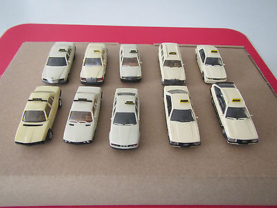 Wiking/Herpa HO scale car collection Audi, BMW, Mercedes-Benz, Mitsubishi