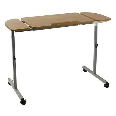 NRS Healthcare Adjustable Tilting Over Bed & Over Chair Table-New