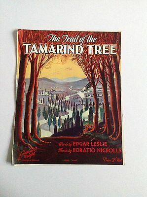 The Trail Of the Tamarind Tree Ukulele And Piano Sheet Music
