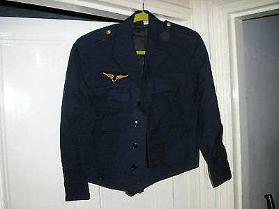 French Air Force uniform jacket and Corporal's side cap