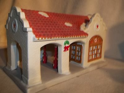 Texaco 1986 Oaklawn Filling Station,2nd in Series,Lighted
