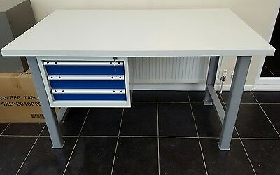 Heavy Duty Work Bench With Drawers