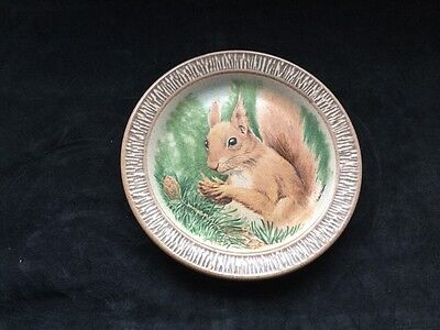 Purbeck Pottery Squirrel plate