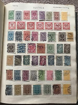 Rare World Stamp Album From 1920's Onwards