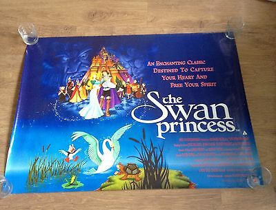 "THE SWAN PRINCESS Original Cinema Quad Poster 40"" X 30"" 1994 Very Collectable."