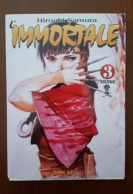 L'IMMORTALE Blade of the Immortal vol. 3  Comic Art - Hiroaki Samura