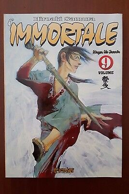 L'IMMORTALE Blade of the Immortal vol. 9  Comic Art - Hiroaki Samura
