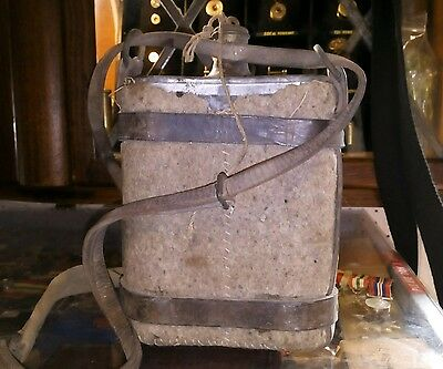 ww1 british army officer water canteen , water bottle
