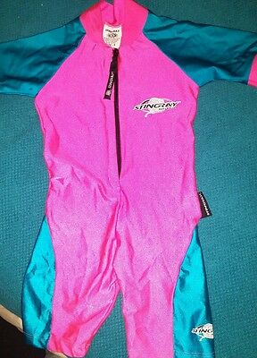 toddler uv protector beach suit size 2 by stingray