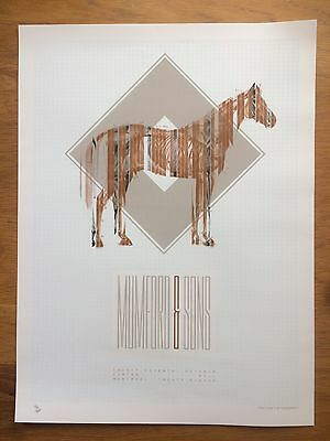 Mumford and Sons Limited Edition Print 76/200
