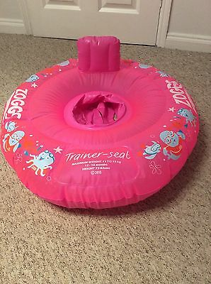 Zoggs baby swim seat - Pink 12-18 Months
