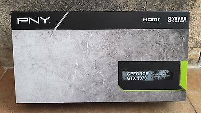 PNY Nvidia GeForce GTX 1070 8 GB Graphics Card-Brand New In Box-Never Used