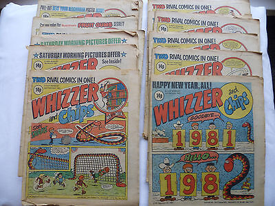13 Whizzer and Chips Comics 1982