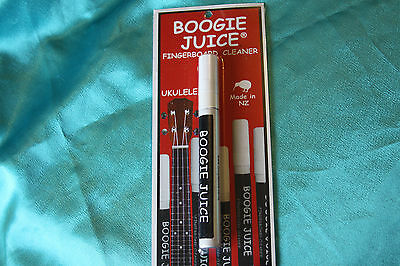 Boogie Juice Fretboard Cleaner for Ukulele, Mandolin, and More, MPN BJFC-U