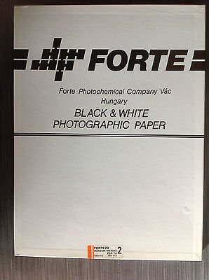 "Forte Fortezo Museum Grade 2 FSP-14 Glossy FB 12x16"" 50sheets"