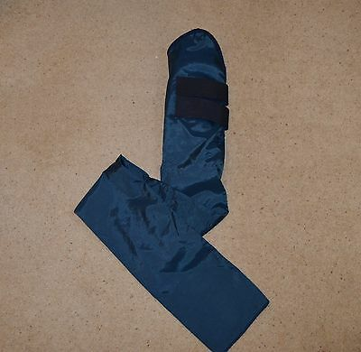 Horse tail guard  - Aerborn, fleece padded, full length tail guard, Navy