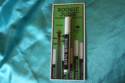 Boogie Juice Fretboard Cleaner for Violin, Viola, Mandolin, and More, MPN BJFC-V
