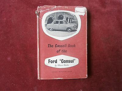 The cassell book of the Ford Consul (Ellison Hawks)