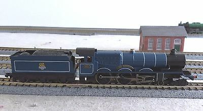 N GAUGE KING CLASS 'KING RICHARD II' 4-6-0 STEAM LOCO No 6021 BR EXPRESS BLUE