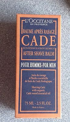 L'Occitane en Provence CADE Juniper 75ml After-Shave Balm (N)