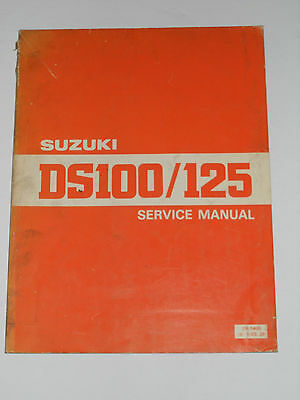 Suzuki Ds100 / Ds125 Official Service Manual