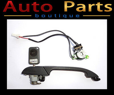 Range Rover P38 1999-2002 OEM FrontRight Door Handle w/Ignition Switch & Key