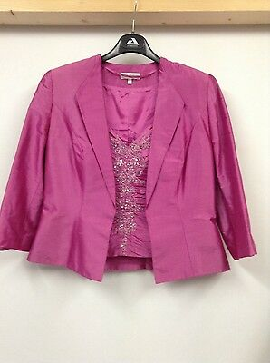 John Charles outfit size 12 pink mother of the bride wedding