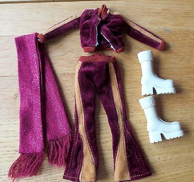 My Scene Dolls Clothes and Boots Mattel