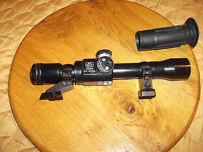 "Yugoslavia JNA ON-M76B ZRAK scope 25.4mm 1"" 1984 with mount for M48"