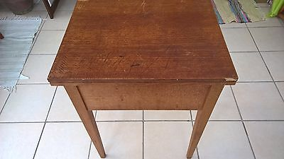 Vintage Wooden Sewing Machine Table Stand/Desk