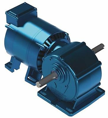 Parvalux Induction AC Geared Motor, 1 Phase Reversible,220/240V, 18 rpm 2271816