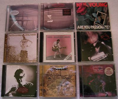 Neil Young - 9 X Cd Job Lot