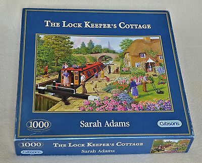 Gibsons 1000 piece jigsaw - The Lock Keepers Cottage