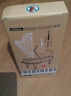 Wittner wooden pyramid walnut collur no bell Metronome - new- unused in box!